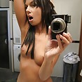 Wild she devils show off their nude self shot pics - image