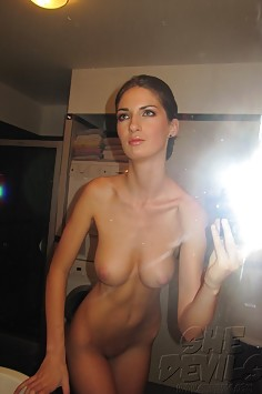 Wild she devils show off their nude self shot pics