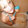 Nubile and hot teen beauty marilyn in the shower - image