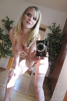 Sexy teen mirror girls love to show their nude bodies
