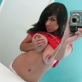 Stacked self shot mirror girl layla goes nude - image