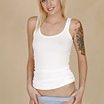 Gorgeous tattooed blonde emo chick emma mae - image