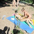 Drunk chicks get a bit wild at the nude beach - image