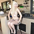 Hot nude goth teen hilary gives some attitude - image
