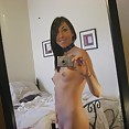 Self shot teen wants to show you her shaved pussy - image