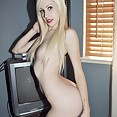 Candid and cute shots of goth beauty hilary nude - image
