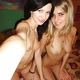 Stunning pair of amateur girls Genya and Lina nude - image
