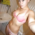 Wildy enthusiastic nude Russian teen  - image