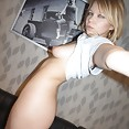 Blonde and bad Russian teen Sue - image