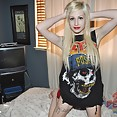 New pics of nude goth queen Hilary - image