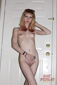 More of weird and sexy Emo and Goth nude girls