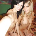 Genya and Lina in sexy nude threesome - image