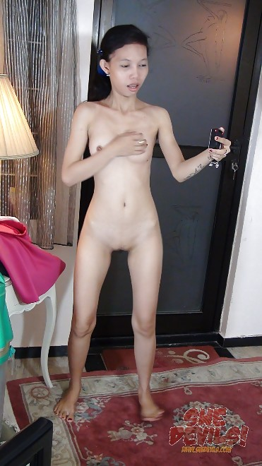 Scary Skinny 18 Year Old Naked Asian Webcam Girl From -9343